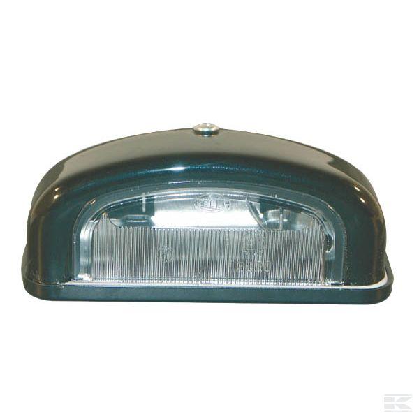 Фонари освещения номерного знака + LED