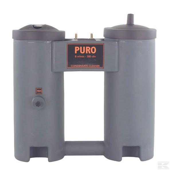 Разделительная система для масла и воды