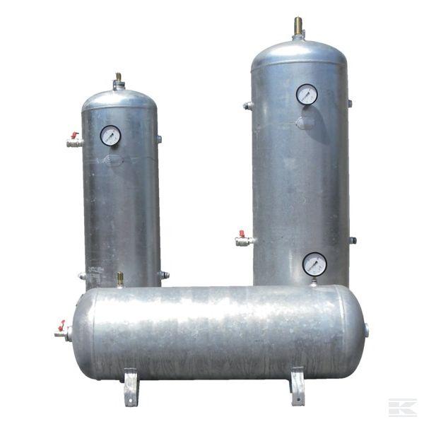 Резервуар для сжатого воздуха и принадлежности