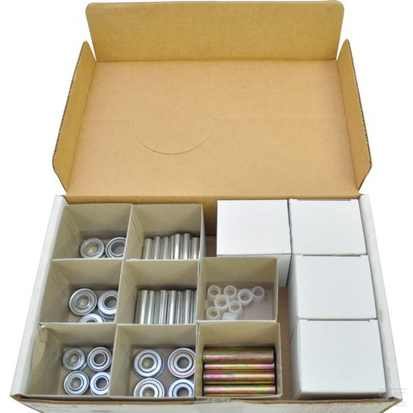 Коробка с отделениями деталей подшипника колеса для газонокосилок