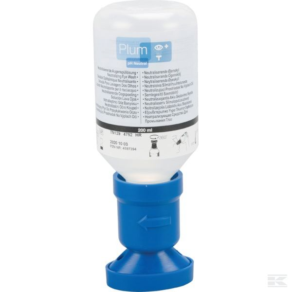 +QuickSafe eye wash refill  4,9% Phosphate