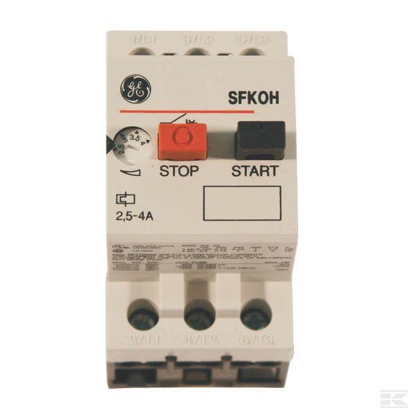 Защитные автоматы электродвигателей