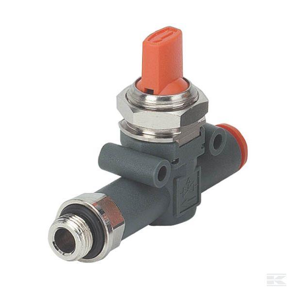 In-Line встроенный запорный клапан - серия V2V L + V3V L E -  Metal Work
