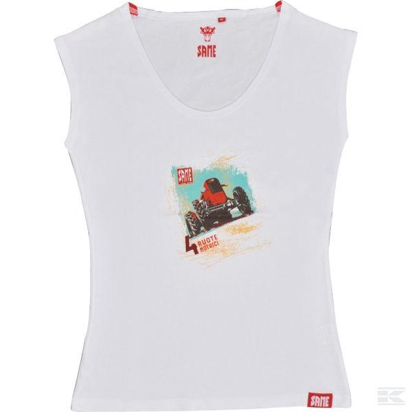 M01S007 Женская винтажная футболка