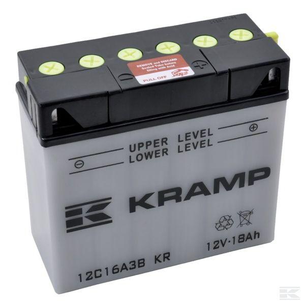 12C16A3BKRаккумулятор с электролитом 12В
