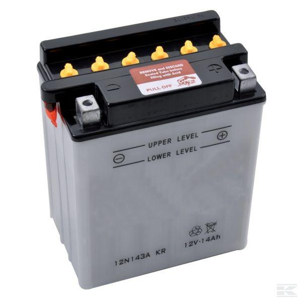 12N143AKRаккумулятор с электролитом 12В