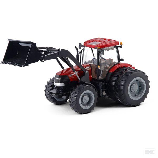 1994TM42427Трактор Big Farm Case IH с погрузчиком и спаренными колесами