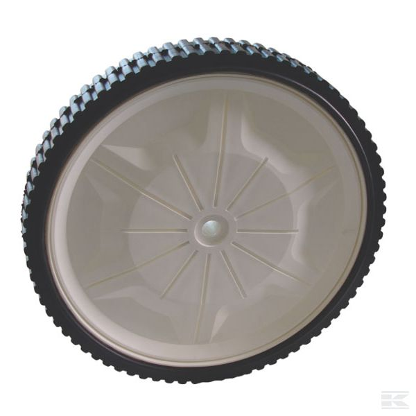 0341000114ROL +Black plastic wheel