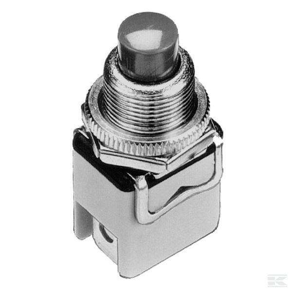 1212A2Нажимной выключатель NC 12 мм (размыкающий контакт)