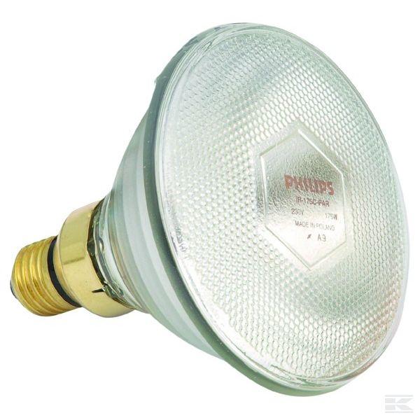 1756080510Инфракрасная нагревательная лампа PAR Прозрачная 100 Вт