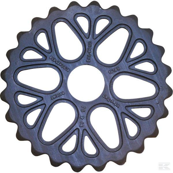 15185Кембриджское кольцо зубчатое 500мм