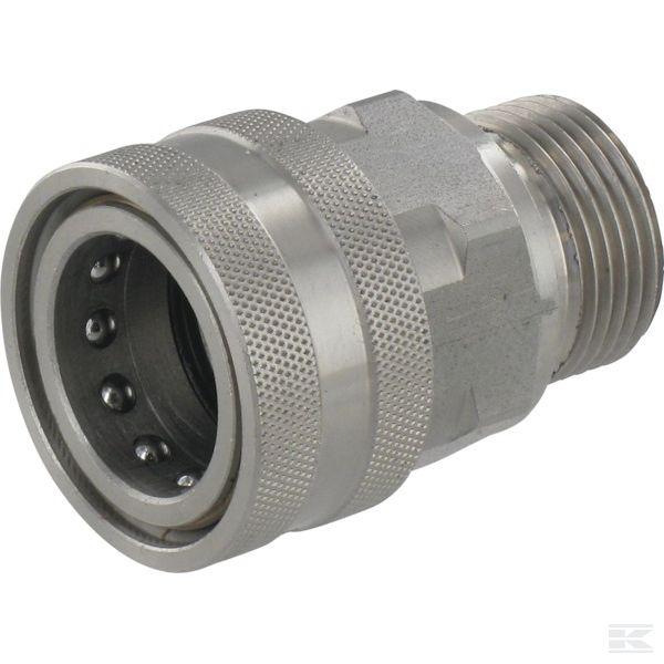"2704121KRЖенский быстроразъемными муфтами Ø18,2mm x Нар.р. 1/2"" нст"