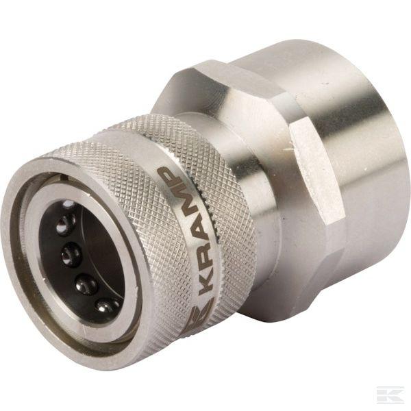 """2704120KRЖенский быстроразъемными муфтами Ø18,2mm x Внут.р. 1/2"""" нст"""