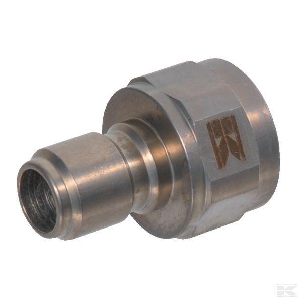 "2404380KRМужской быстроразъемными муфтами Ø17,8mm x Внут.р. 3/8"" нст"