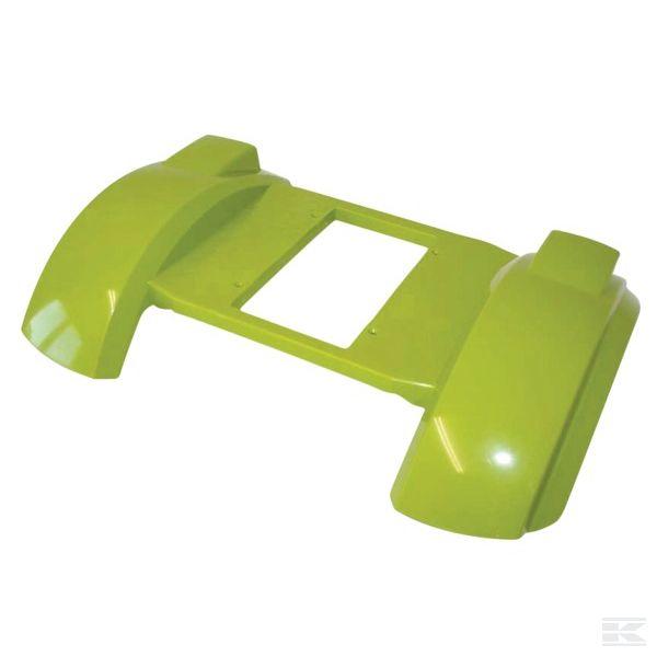 09900005837Защитная пластина Claas, зел.