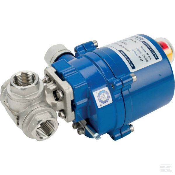 """BLV015LACT24VACDC+Ball valve 1/2"""" electric"""