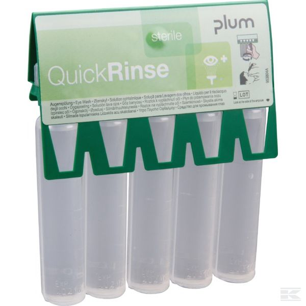 PLUM5160 +QuickRinse 5x20ml eyewash am