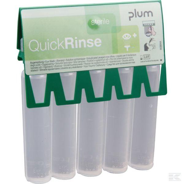 PLUM5160+QuickRinse 5x20ml eyewash am