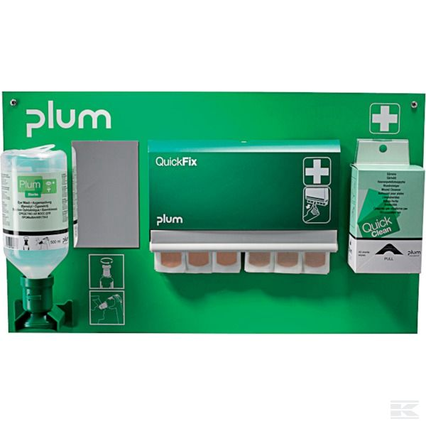PLUM5101 +First Aid Station 500ml 0,9
