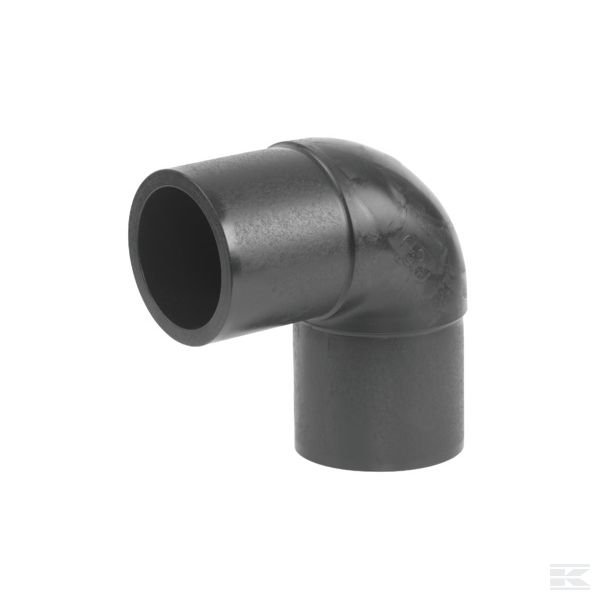 460507075Угл. элемент 90° 75 мм SDR 17