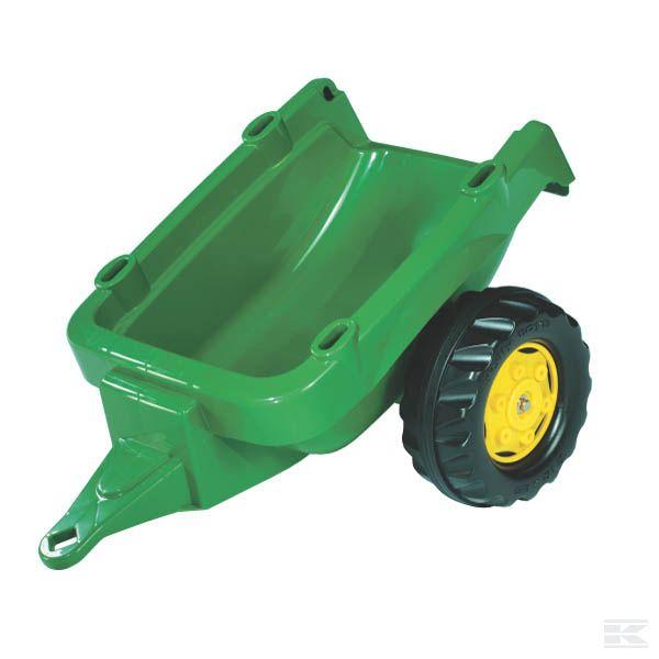 R12174Прицеп RollyKid зеленый John Deere