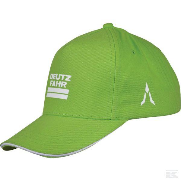 M01D060Бейсболка зеленая