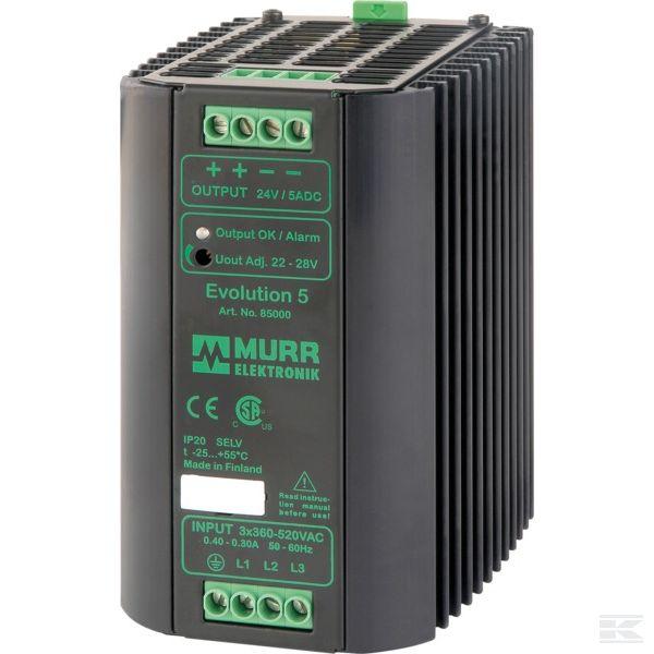 85000Электропит. 400VAC/24VDC 5A